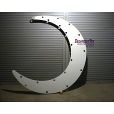 Луна с прорезями под лампы (заготовка)