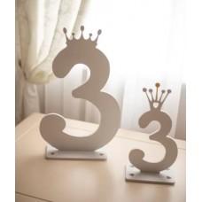 Цифра с короной