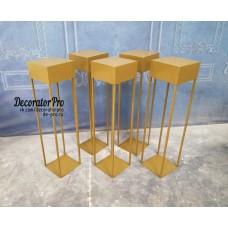 Стойка цветочная  №11 геометрическая с коробом