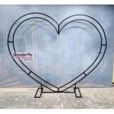 Каркас металлический сердце (усиленный по контуру)