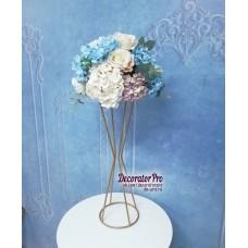 Стойка цветочная №13 фигурная узкая