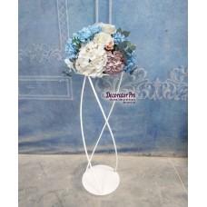 Стойка цветочная №16  фигурная бочонком