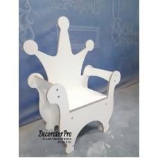 Кресло-трон детский №1